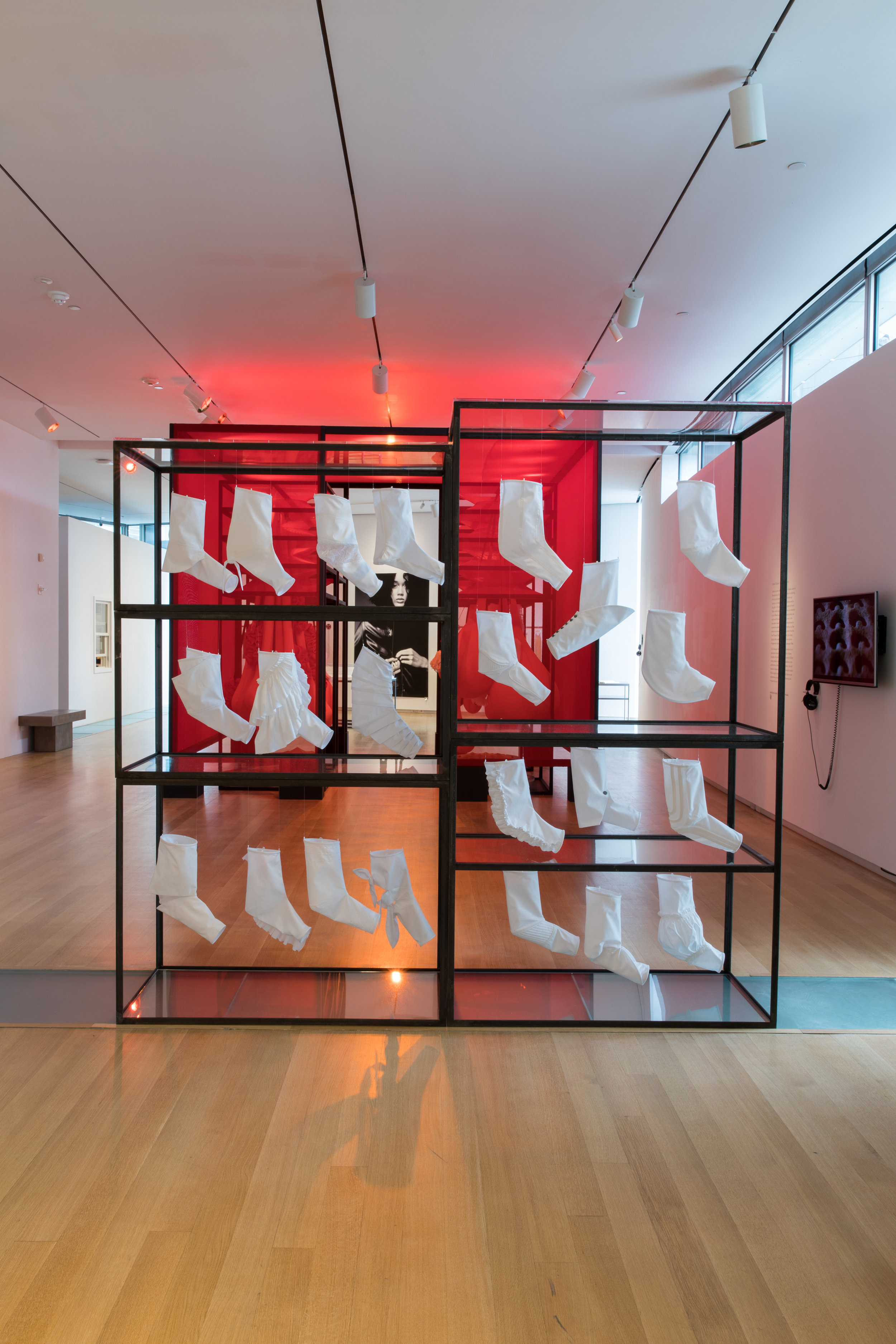 Lucy Jones, 'Seated Sleeves', installation, 2017