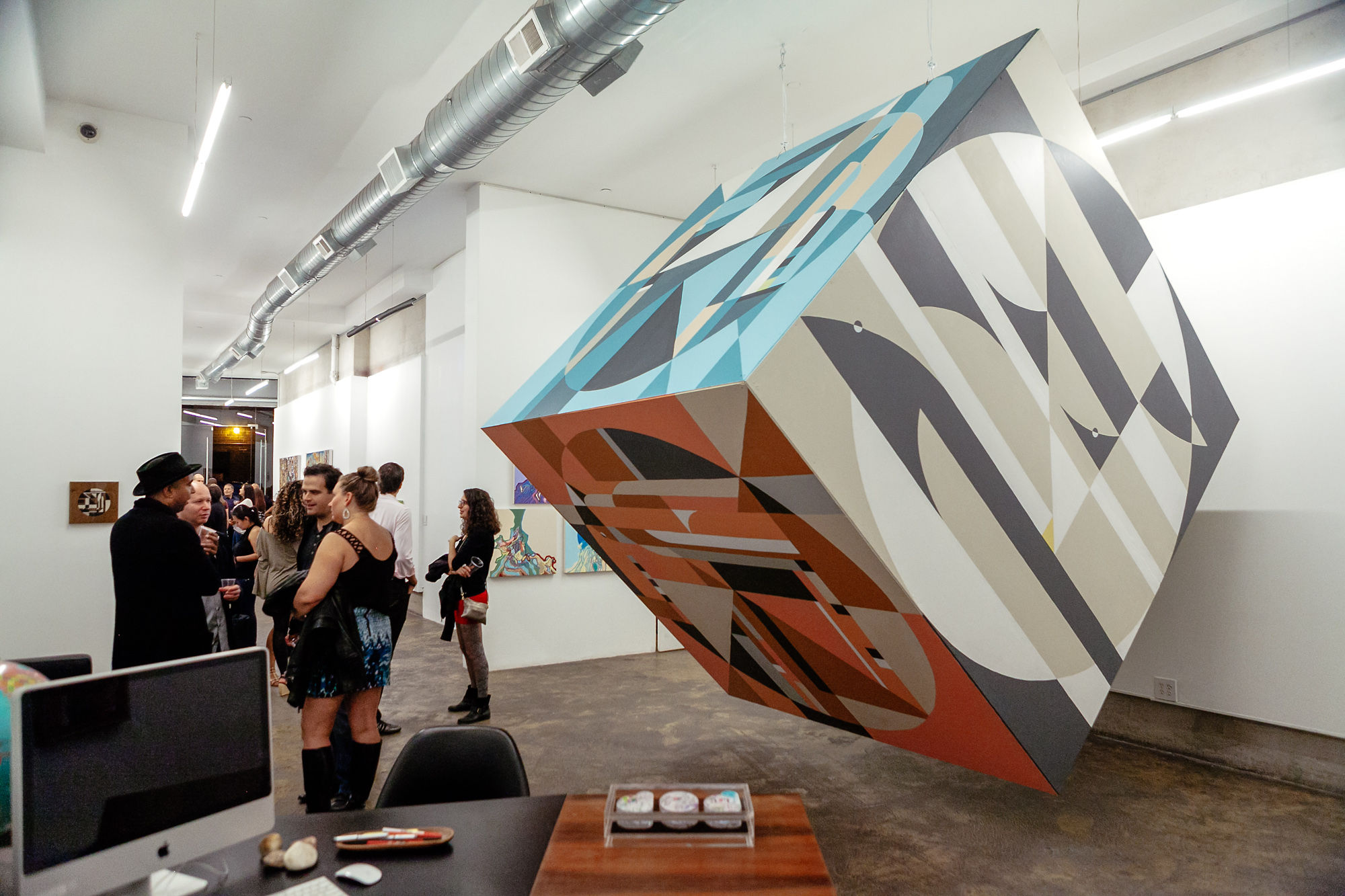 Exhibition in Cube Gallery in New York, 2014.