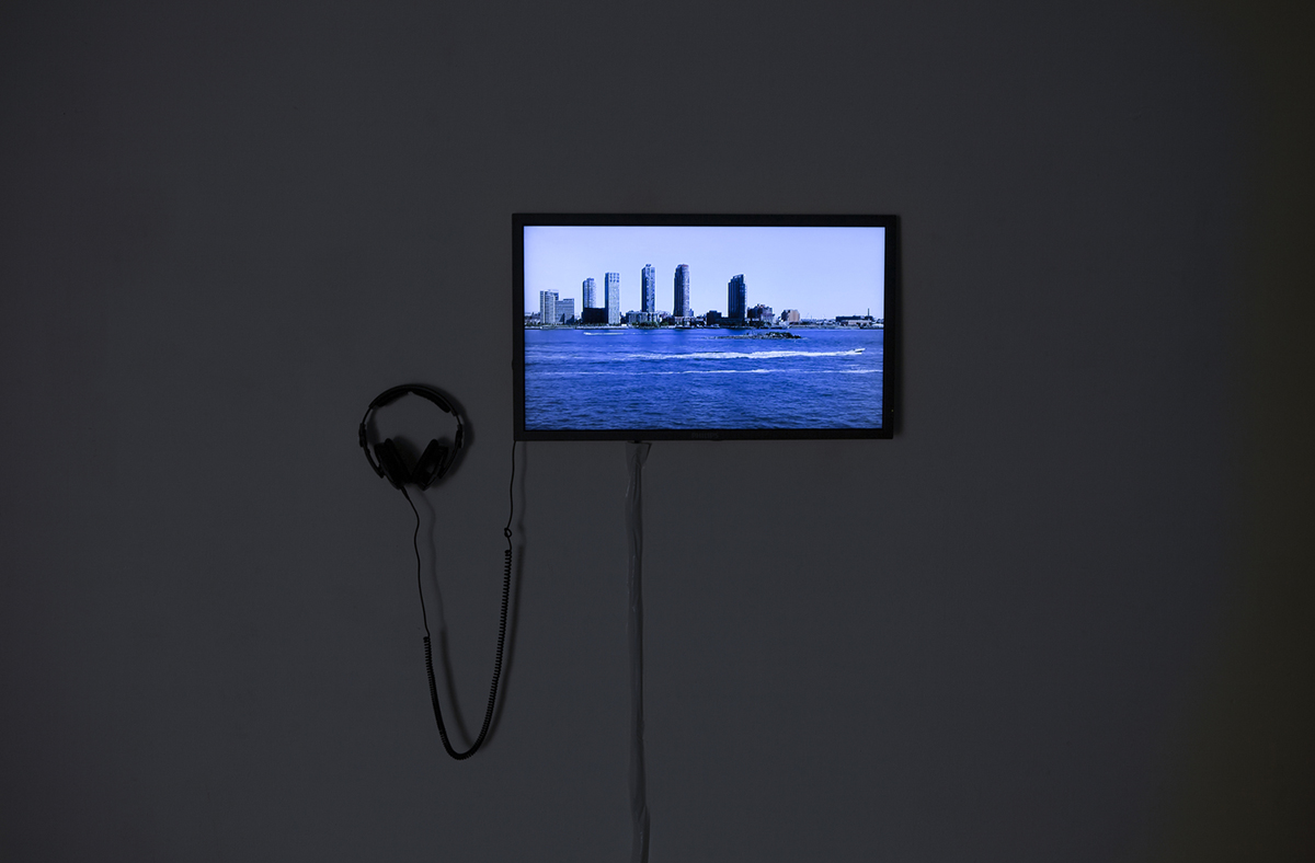 Liinu Grönlund, East River , 2015,Video - loop, 6:40. Residency Unlimited's Program Manager Boshko Boskovic was HIAP - Helsinki International Artist Program's MOBIUS Fellow in 2014-2015. His fellowship culminated in an exhibition for which he commissioned new works from contemporary artists such as Liinu Grönlund. The exhibition was featured as part of both HIAP's and Finnish Museum of Photography's programs in Spring 2015.