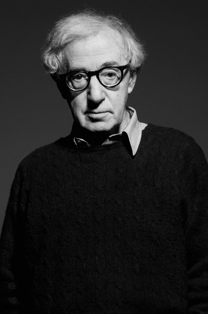 Woody Allen,  2014 for TIME Magazine © Therese + Joel