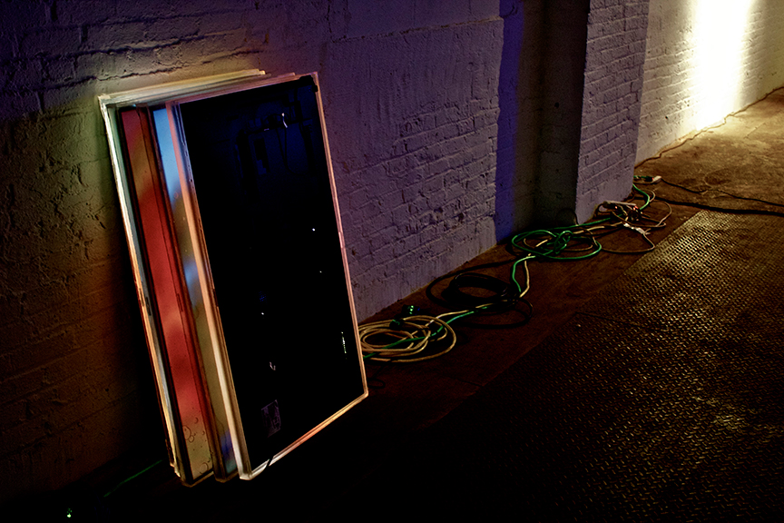 Installation,  Surface Support ,SIGNAL, New York, NY, 2016. Curated by Amanda Schmitt. Photo courtesy of SIGNAL.