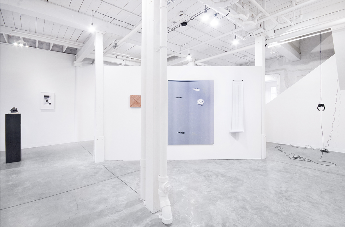 Installation,  The Split , GRIN, Providence, RI, 2017. Curated by Amanda Schmitt. Photo courtesy of GRIN.