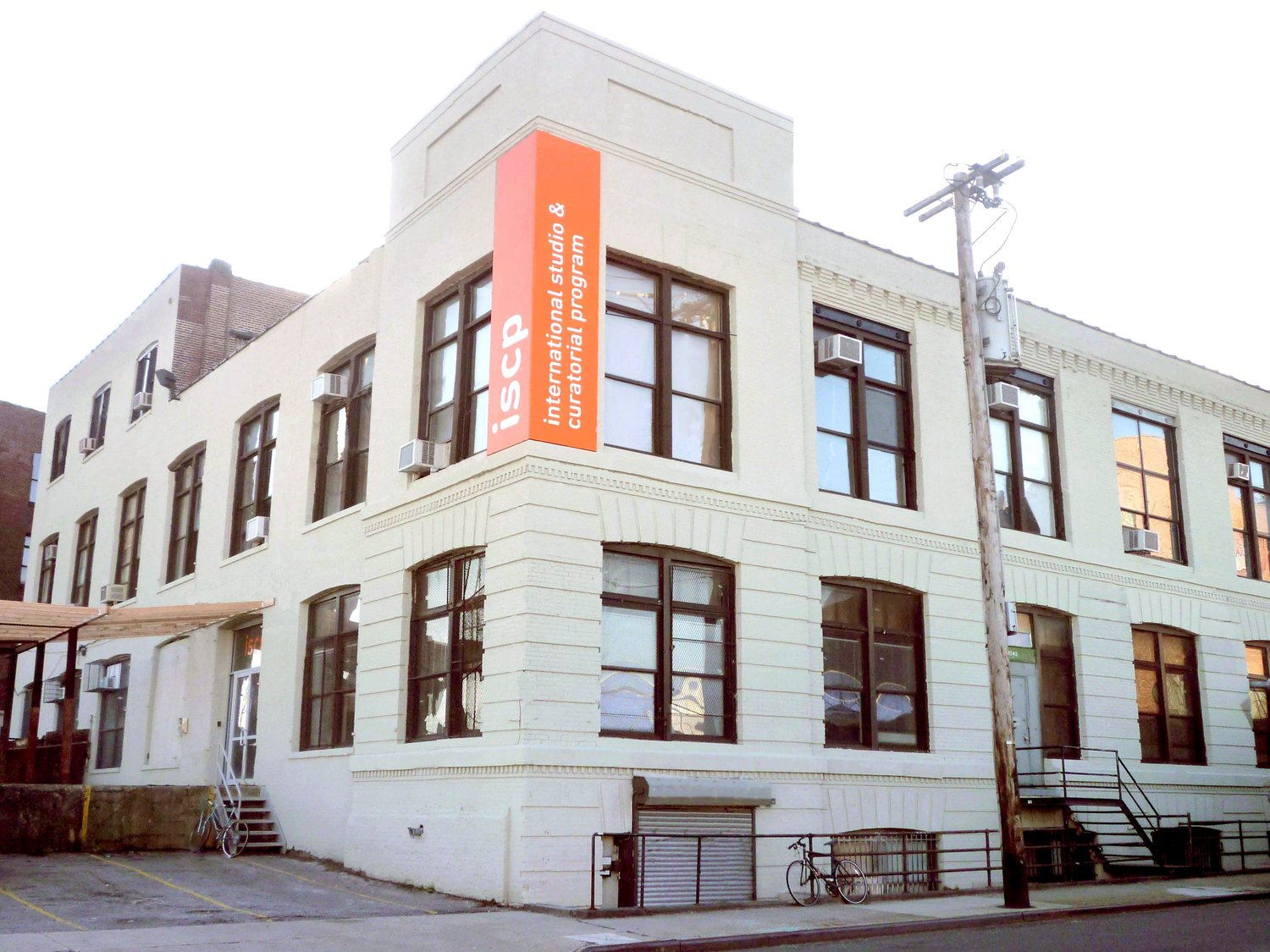 ISCP's building in East Williamsburg, Brooklyn. Courtesy ISCP.