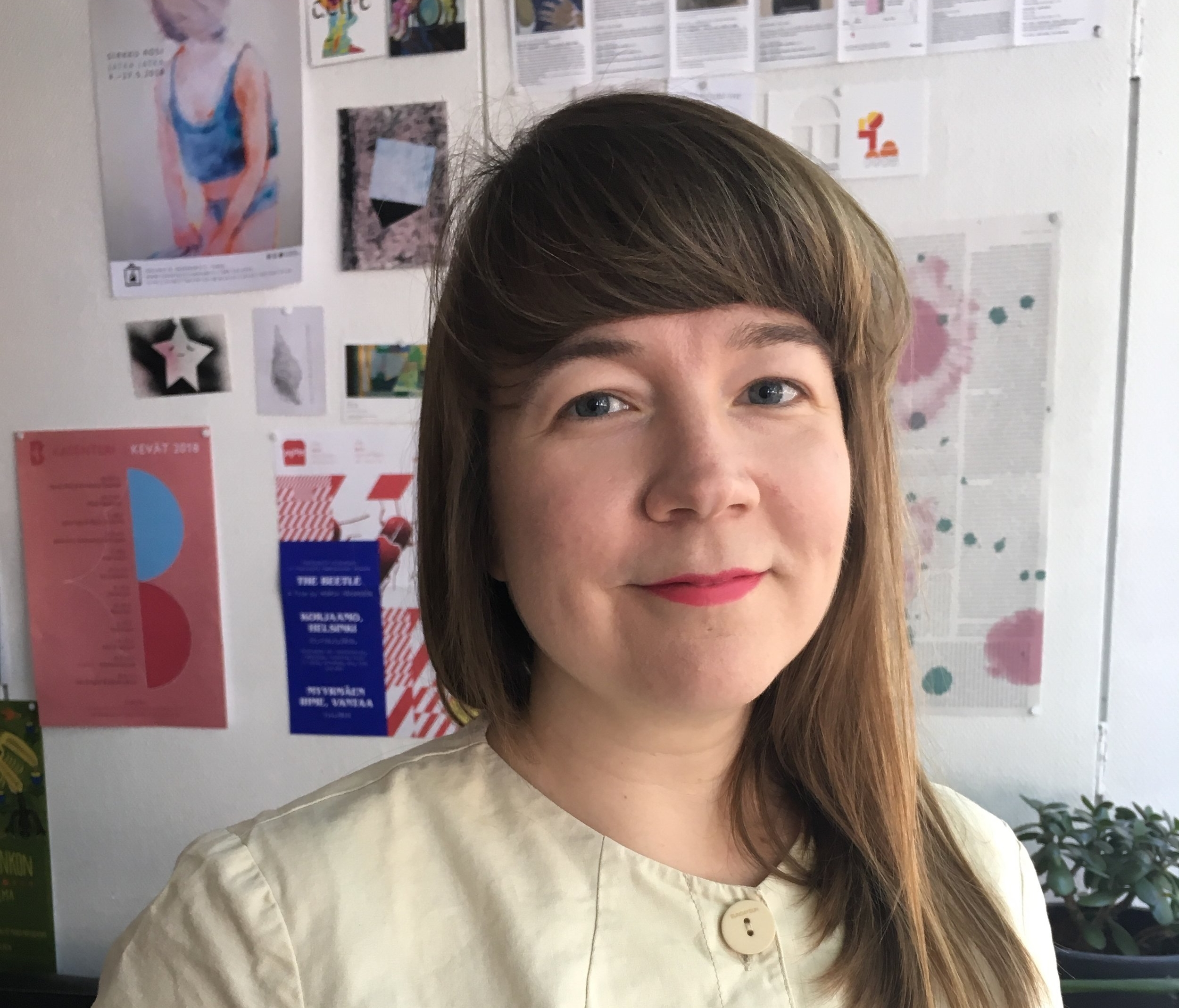 Elina Suoyrjö's curatorial residency at the ISCP will take place in October-November 2018. Suoyrjö is an independent curator and currently working as the director of Titanik art space in Turku, Finland.