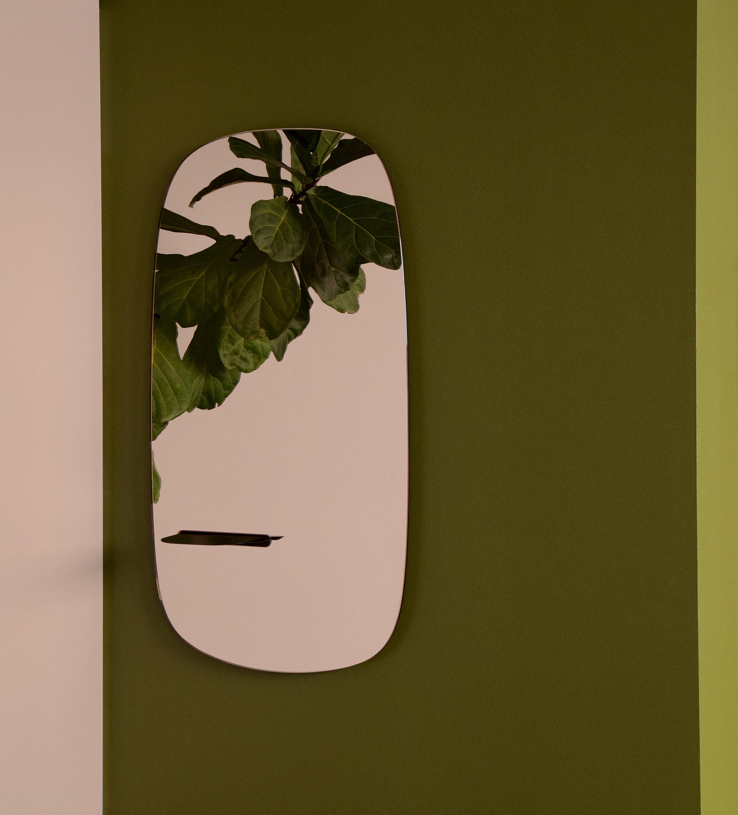 Sointu Mirror by Anna Pitkäjärvi's and Hanna-Kaarina Heikkilä's Studio Finna. Photo: Ananya Tanttu