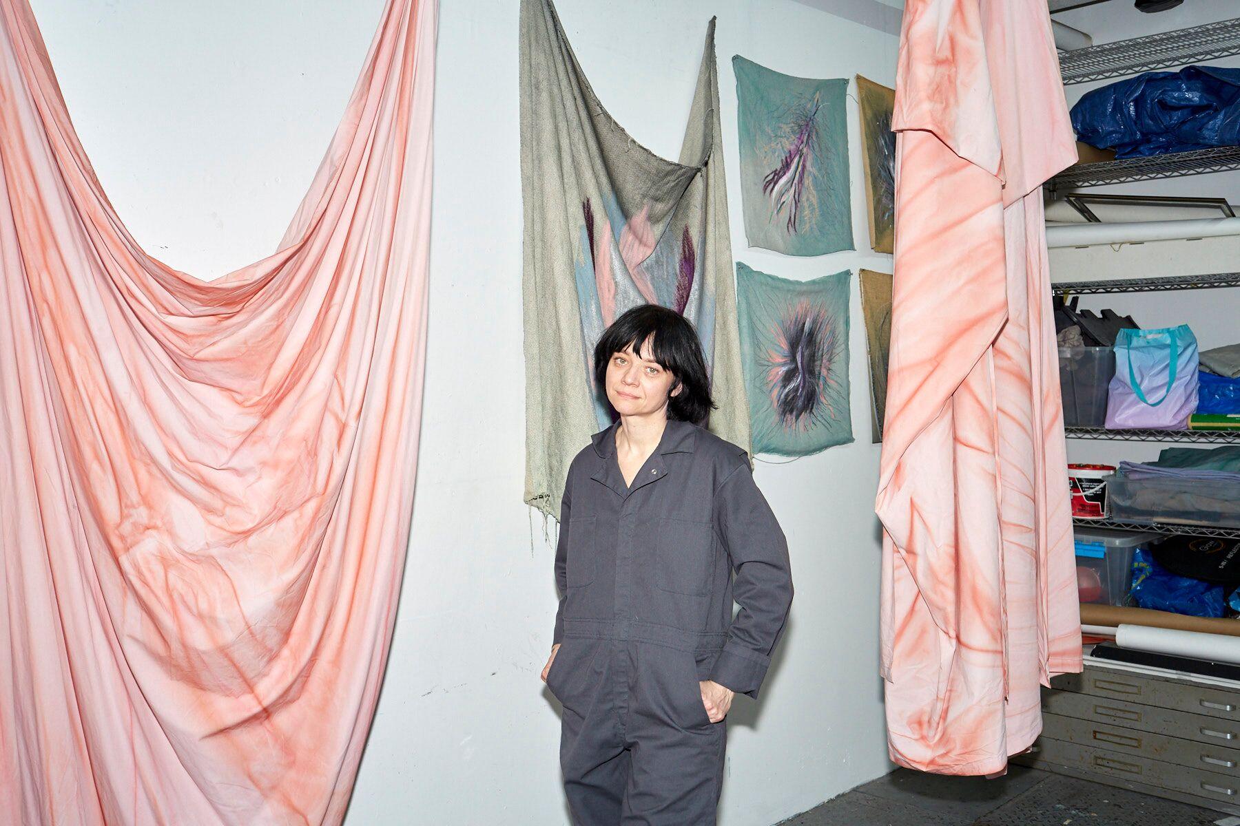 Also featured on the Artfare platform: artist Alex Wolkowicz, photographed by Anna Bauer.