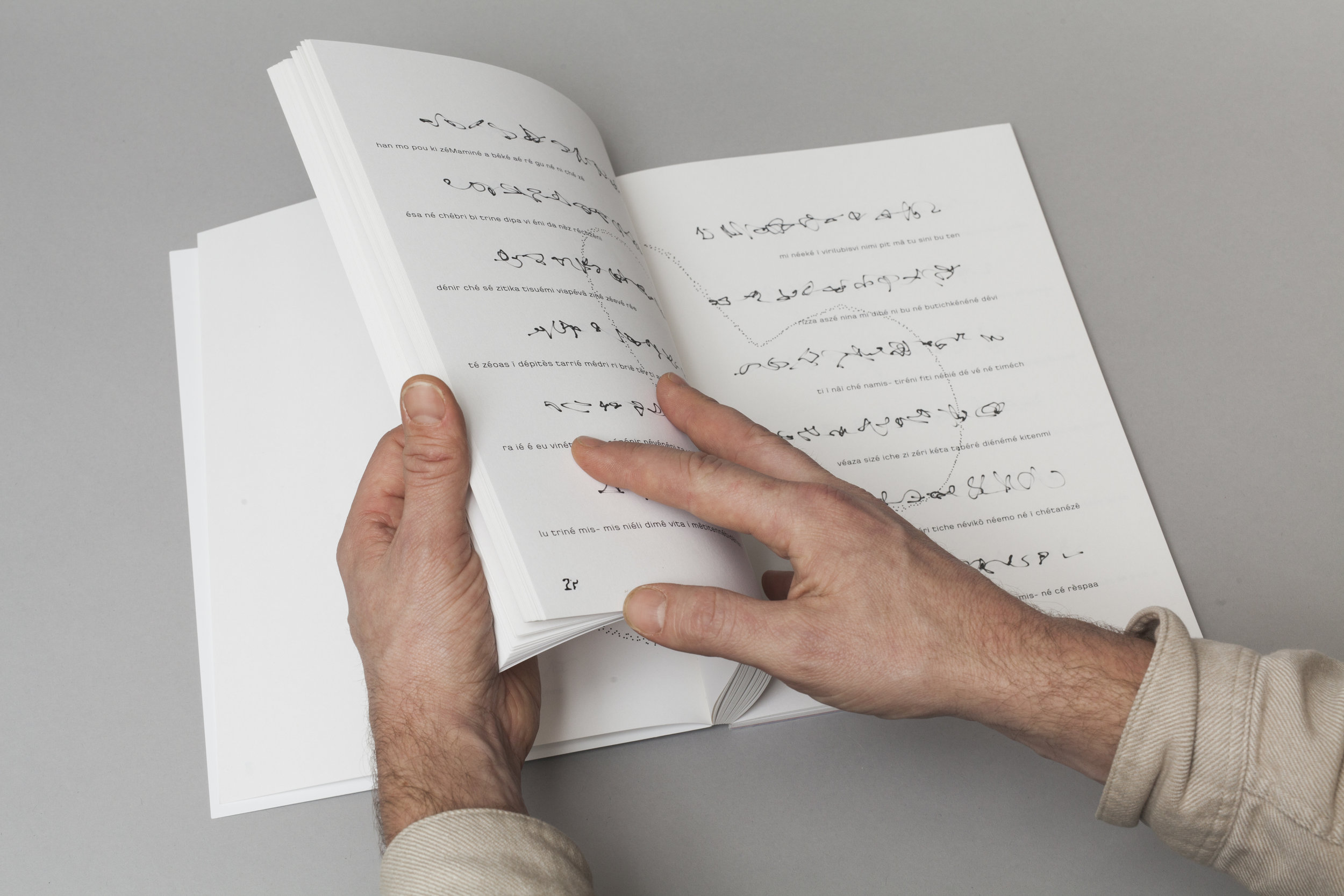 Jenna Sutela,  nimiia ïzinibimi , artist book at Central Library Oodi, Helsinki, 2019