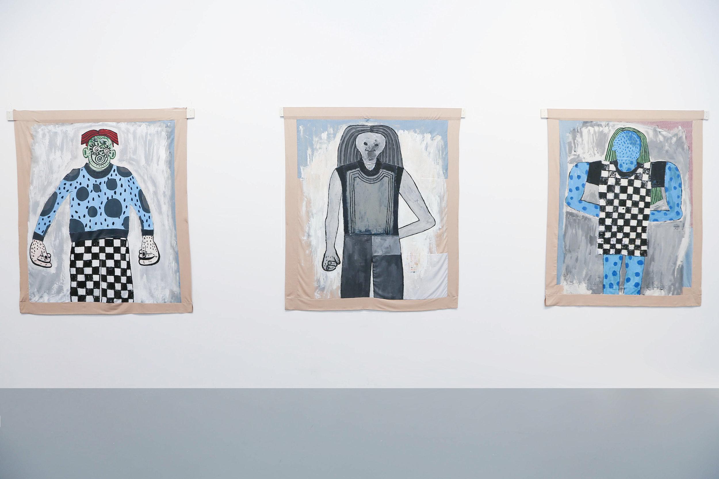 Daniel Palillo,  Blue, Grey and Green , Powerlong Museum Shanghai, 2018.