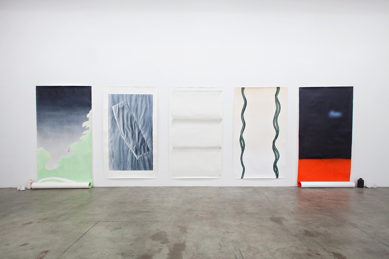 Maija Luutonen, Installation view from the exhibition Soon at SIC, Helsinki 2016. Photo: Tuomas Linna