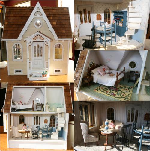 ITEM #1: Antique Dollhouse