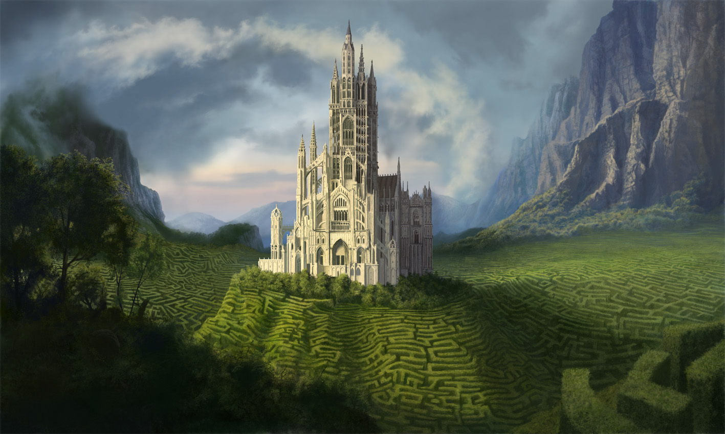 Or CLICK on  this  picture. What has this imposing structure done to the land surrounding it?