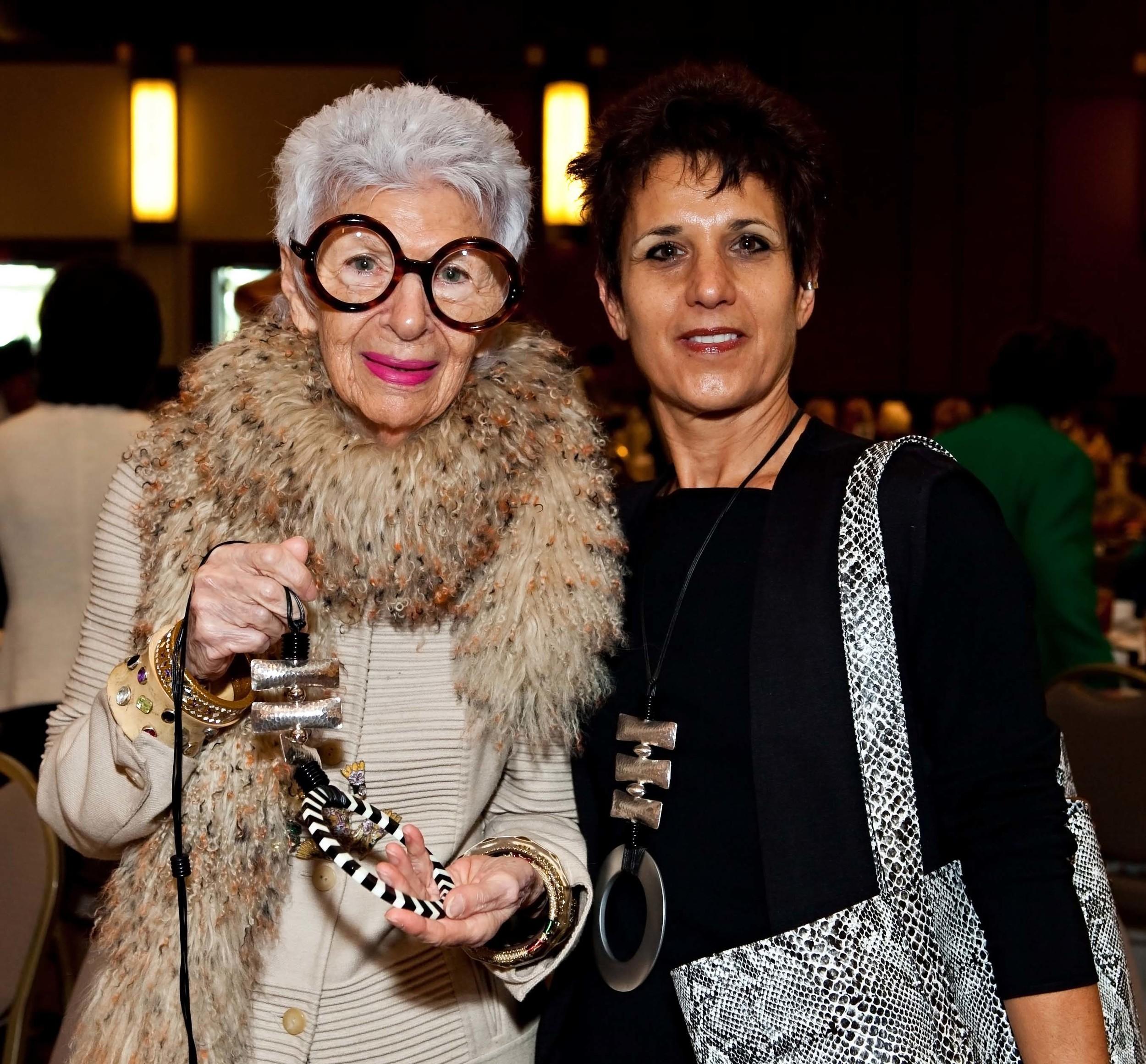 Iris Apfel & Marilyn Palley