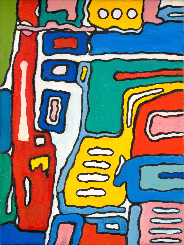 Coco Eriksen, #6 , oil on canvas