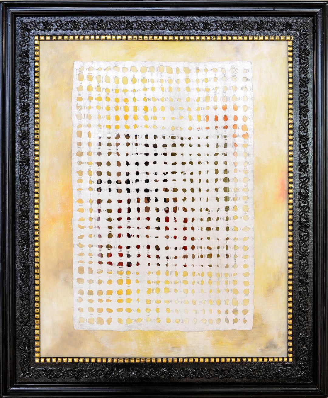 """Helen Harrison, Self Portrait, 29 """" x 35"""""""