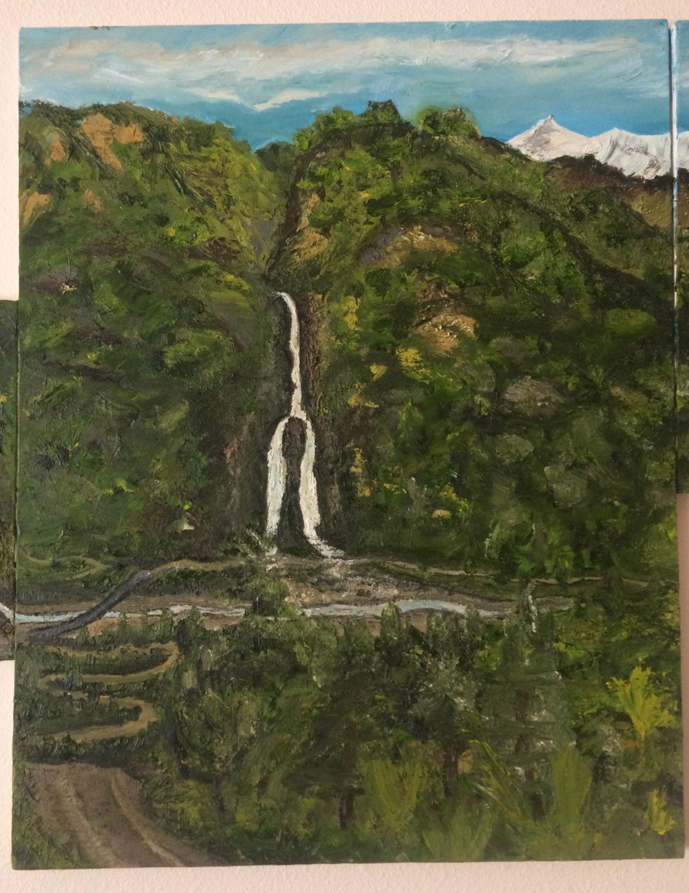 Nepali Mt Waterfall