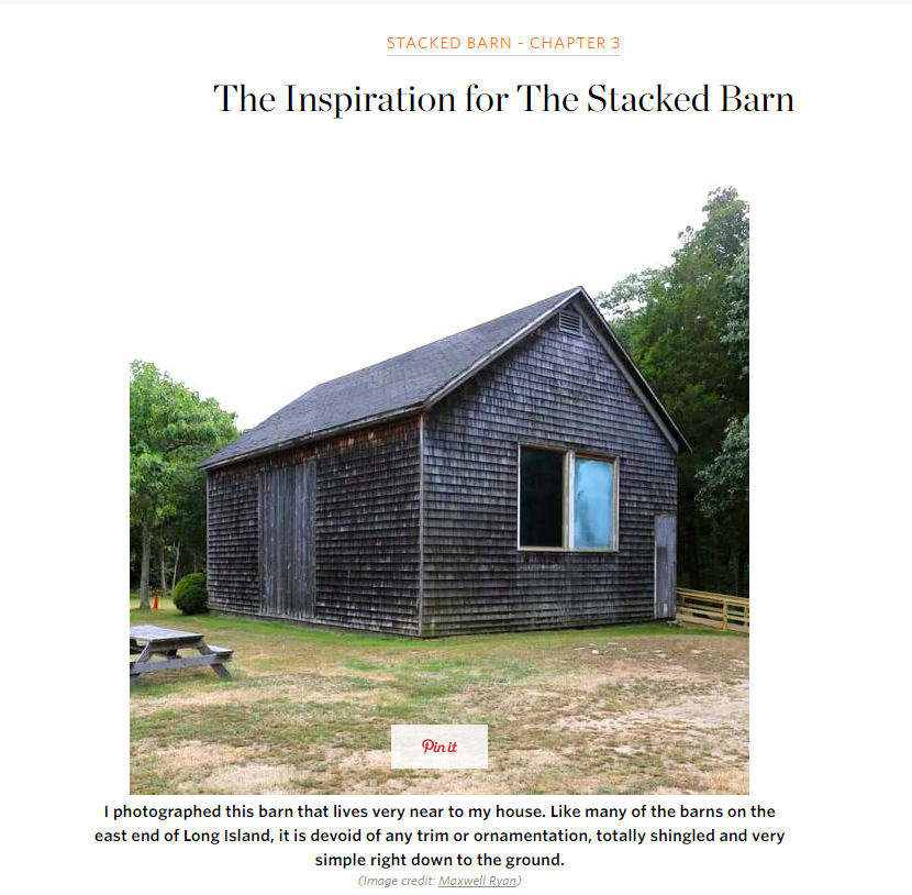 The Inspiration for The Stacked Barn Apartment Therapy (July 2016)