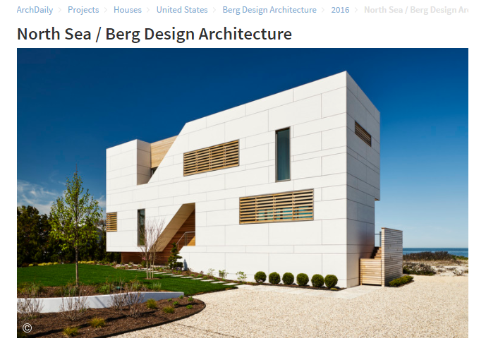 North Sea / Berg Design Architecture Arch Daily (May 2017)