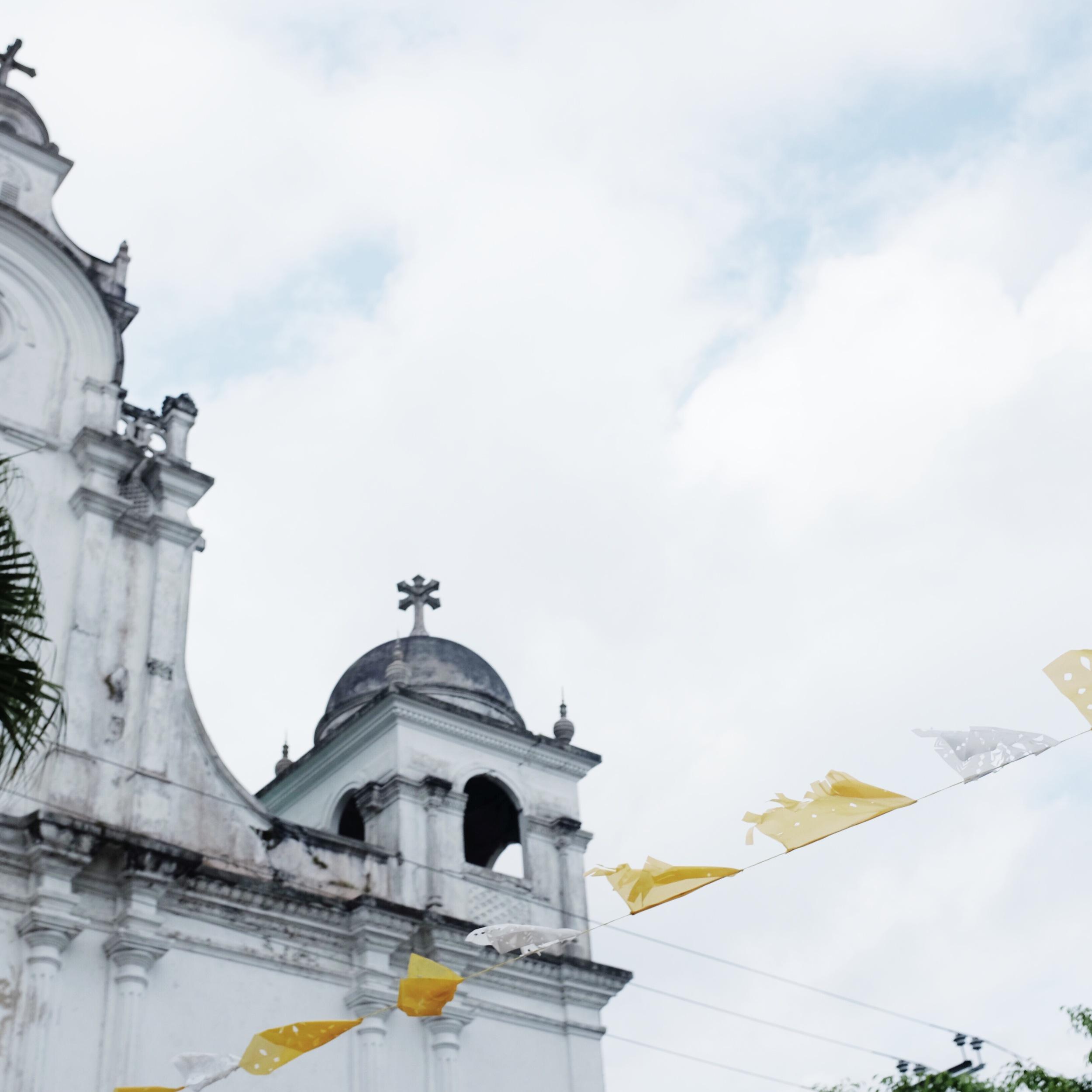 The main church of Izalco.