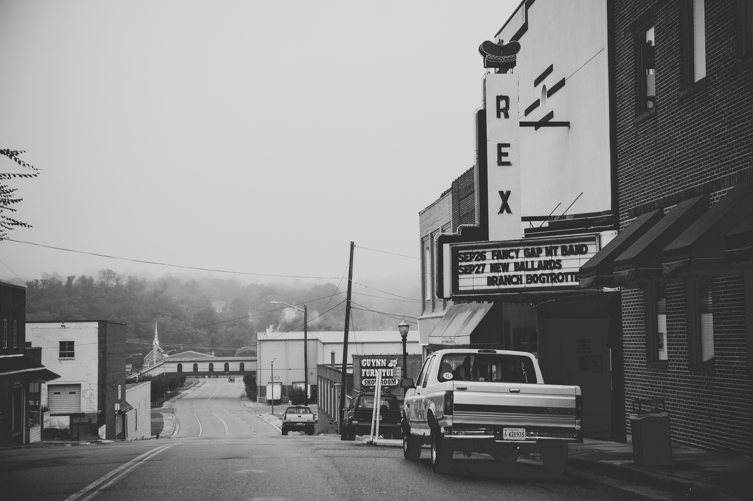 The Rex Theater, known for its Friday night  jam sessions and