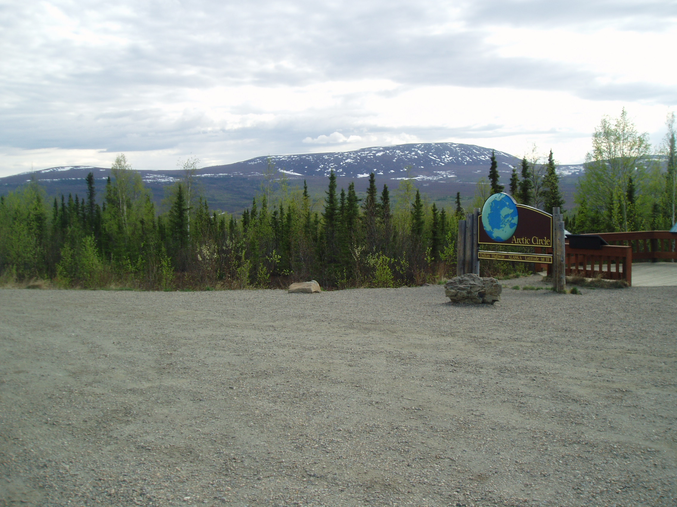 """Arctic Circle Overnight"" - We'll transport you to the Arctic Circle Wayside. Camp overnight. Arrive approx. 11:00 am. Depart the following day at approx. 5:00 pm."