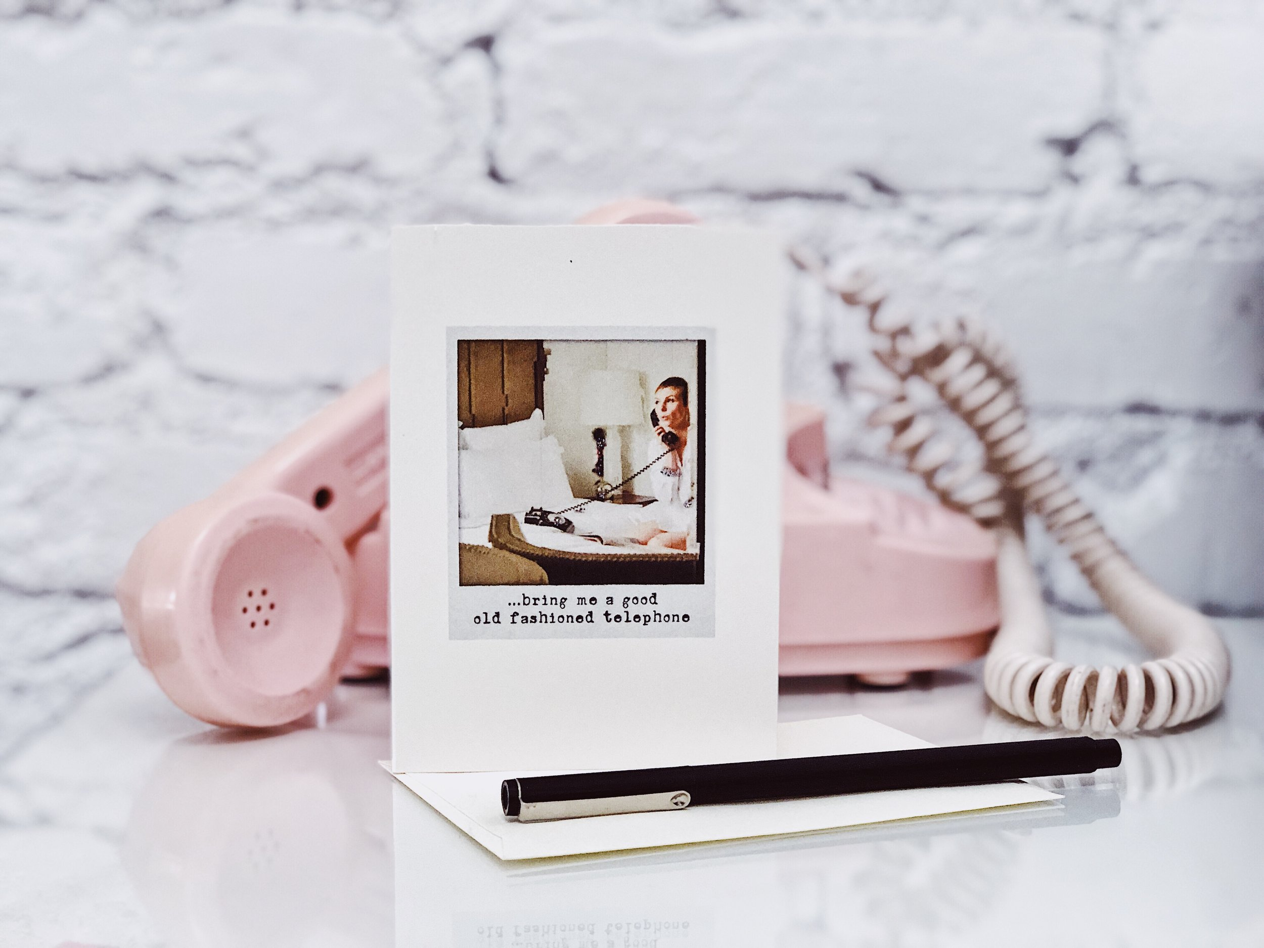 kat-edmonson-sparkle-and-shine-card-set-telephone-styled.JPG