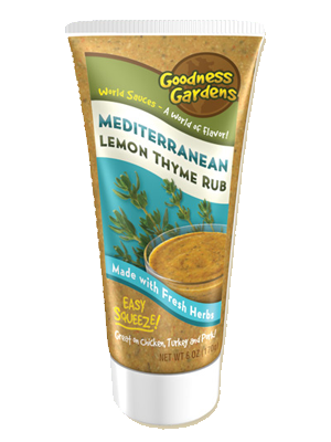 Mediterranean Lemon Thyme Rub