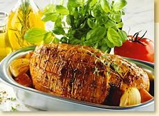 Grilled Chicken with Mediterranean Lemon Thyme Rub