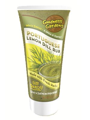 Portuguese Lemon Dill Rub