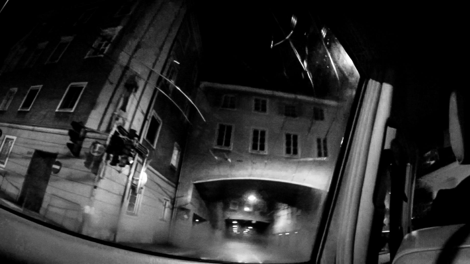 Early morning taxi ride through Salzburg