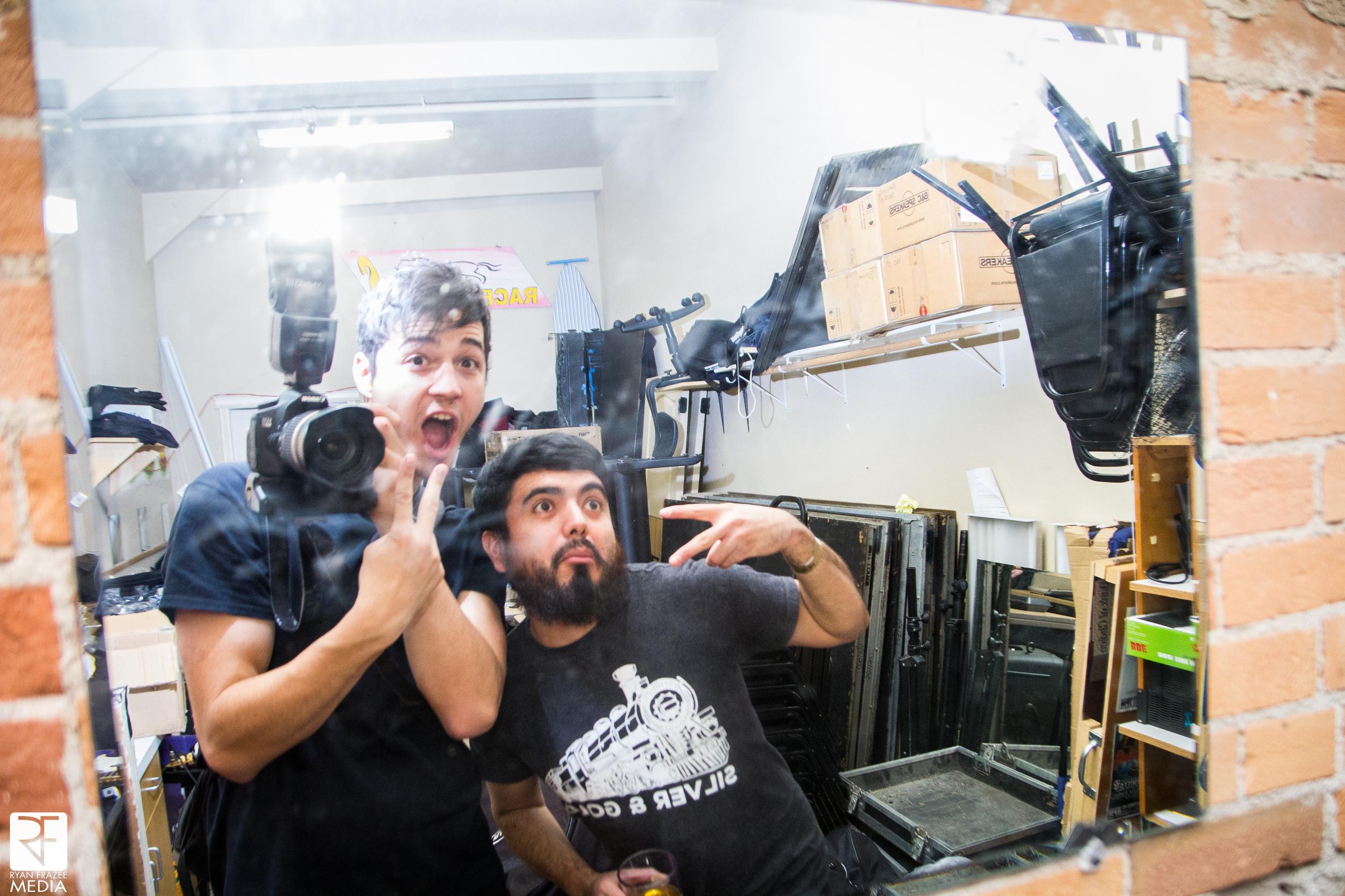 Oscar: We never took a selfie this tour. The result.