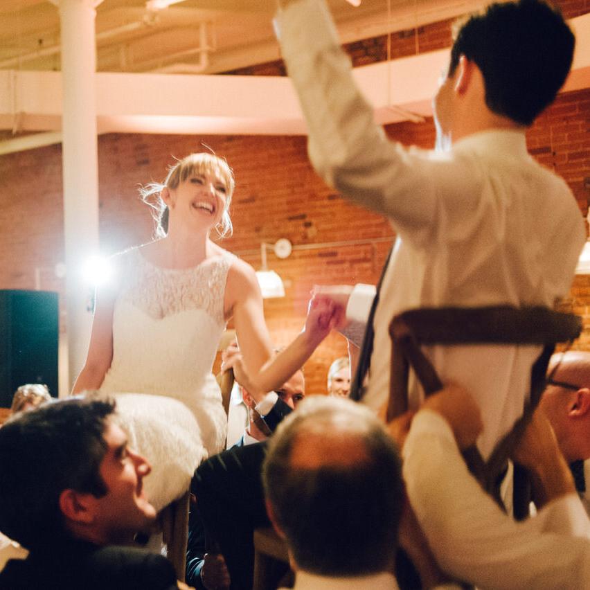 Entrepôts Dominion Wedding Photos