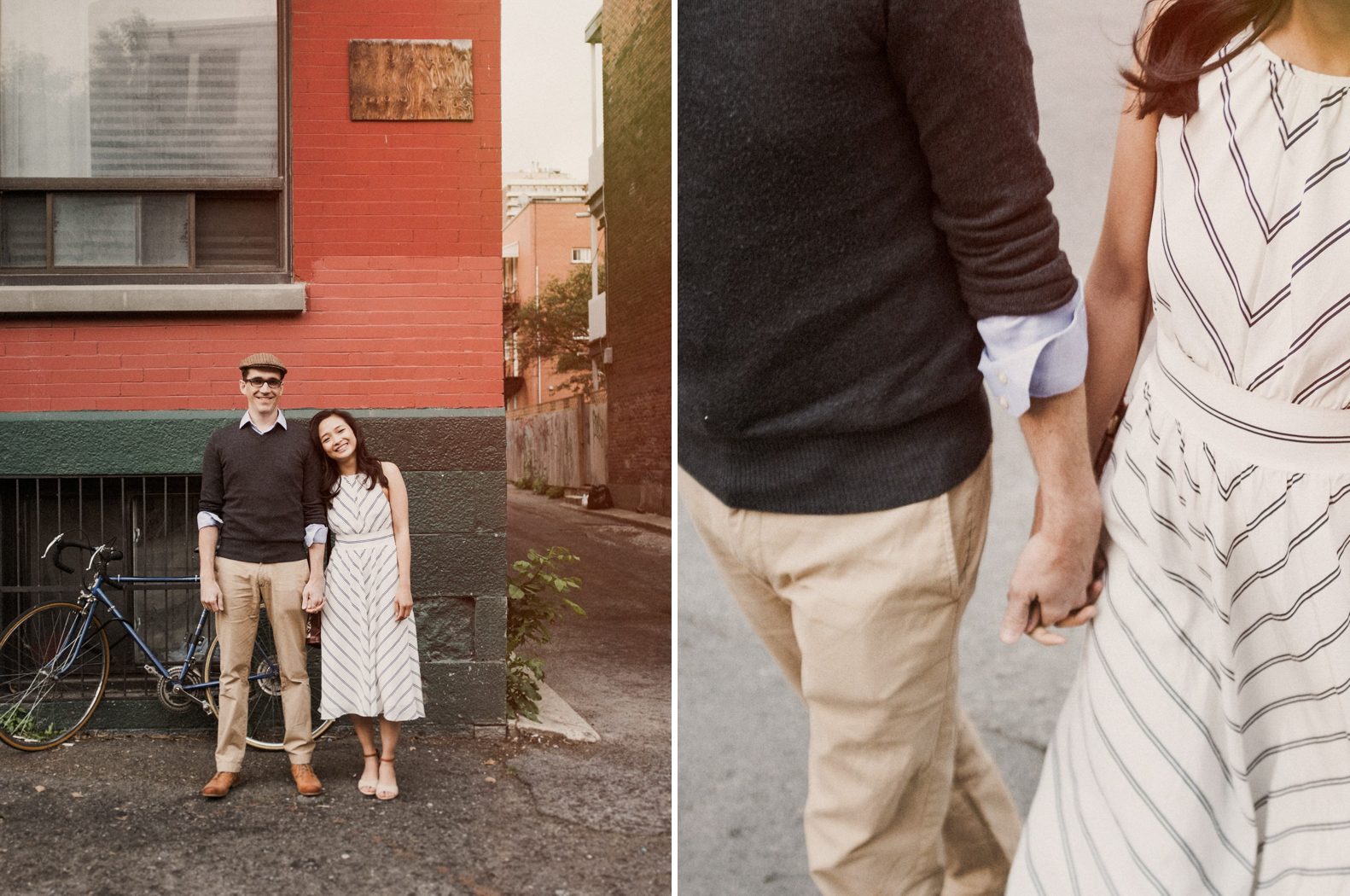 Parc Ave engagement session