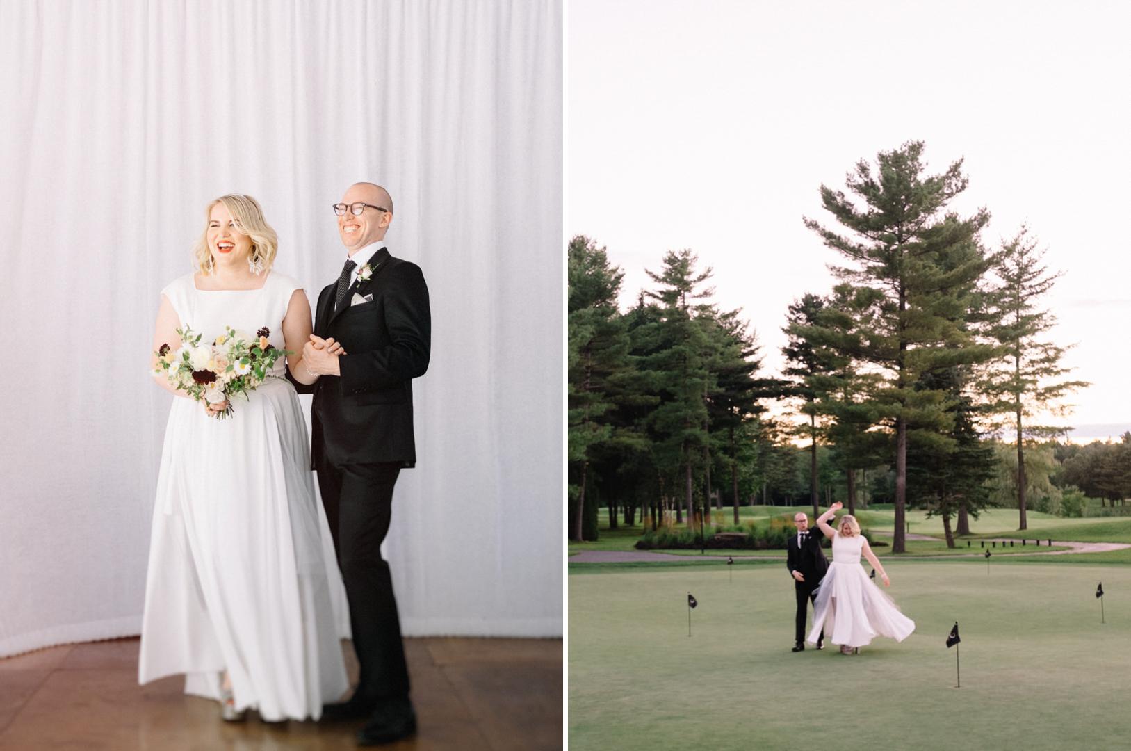 Golf Le Mirage wedding photos