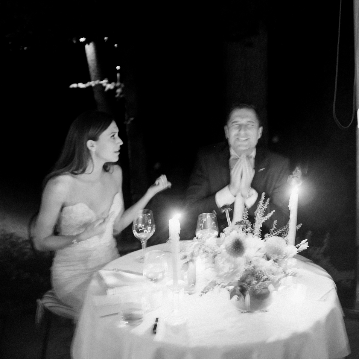 classic black and white wedding photographer