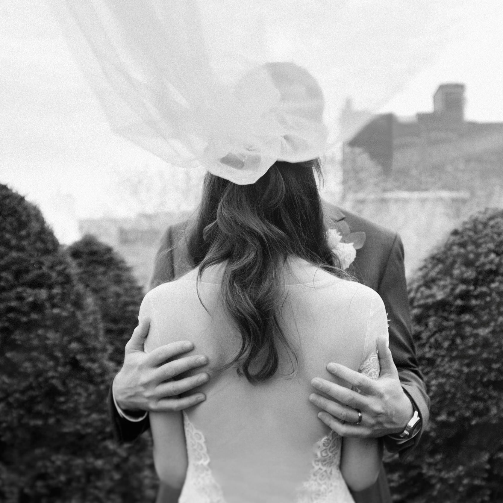 Château Ramezay destination wedding bride and groom portraits.jpg