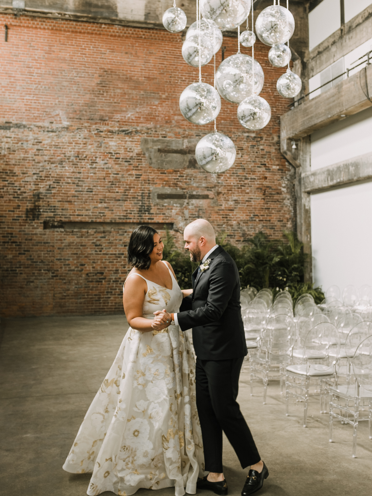 Darling Foundry first dance portrait