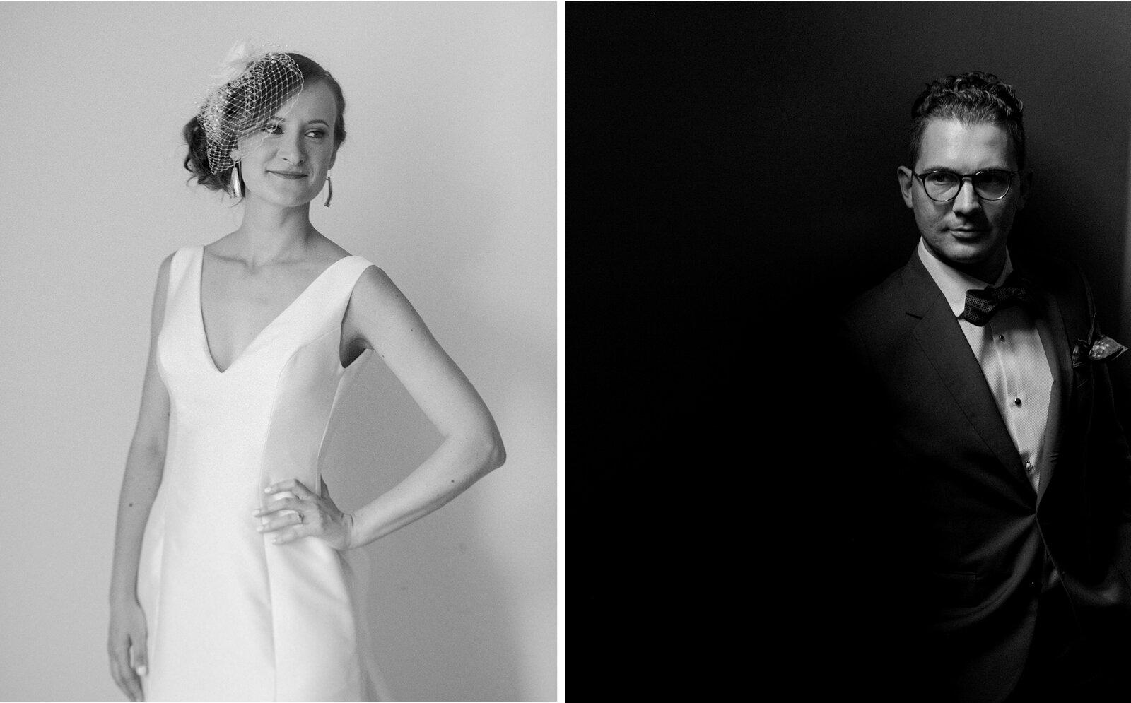ottawa art gallery wedding portrait