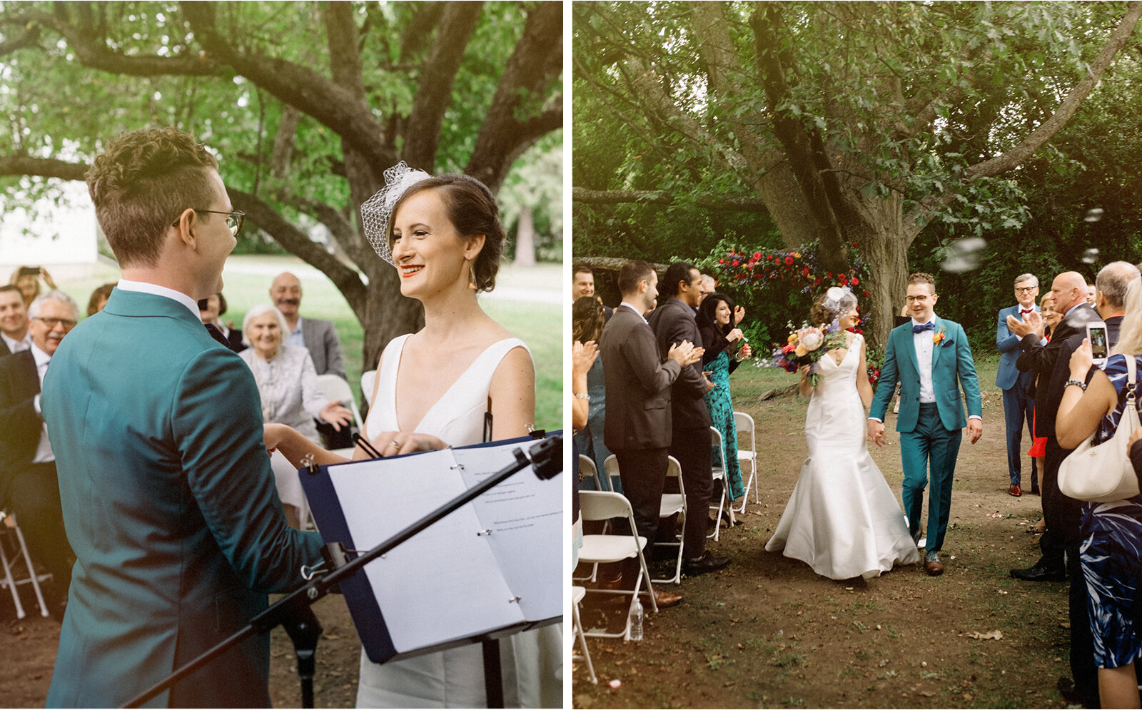 ottawa outdoor wedding ceremony