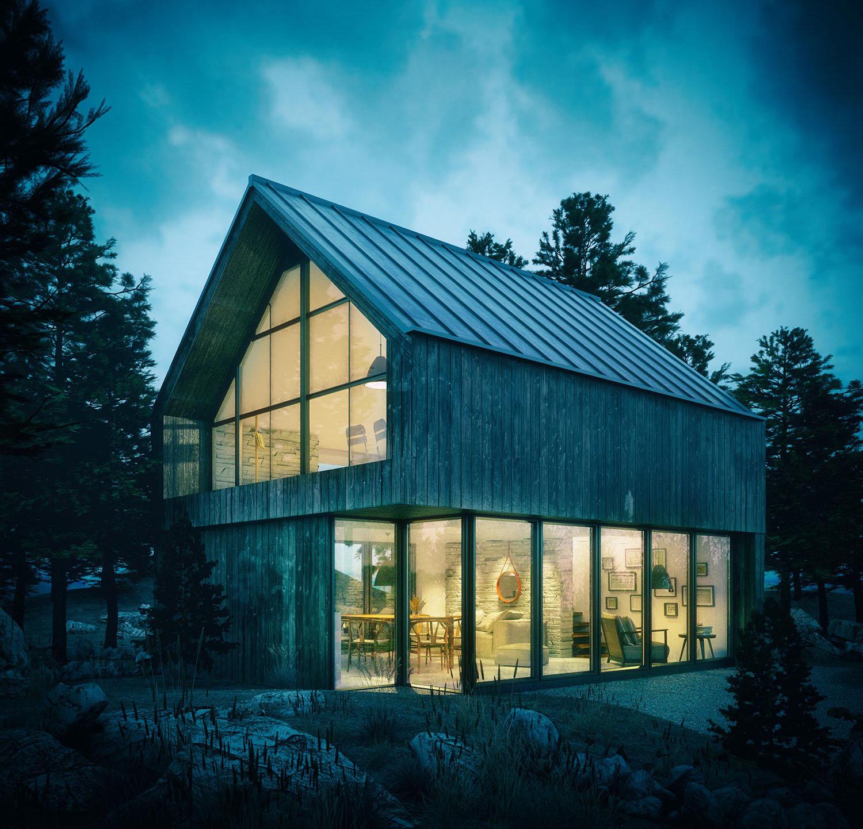3D render design - exterior architecture 2