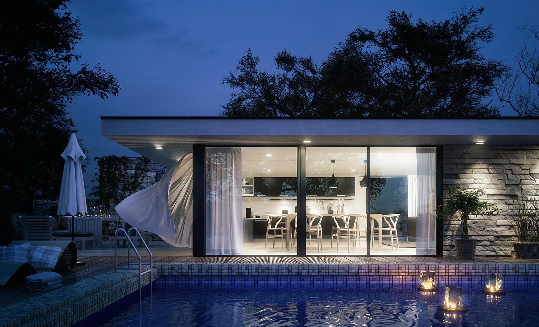 3D render design - exterior architecture 4