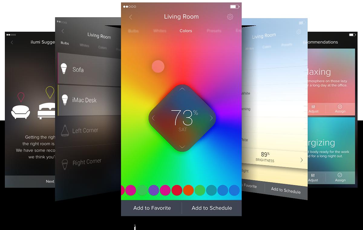 ilumi App Design