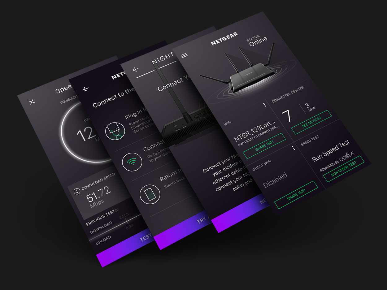 NETGEAR_Nighthawk_App UX and Design