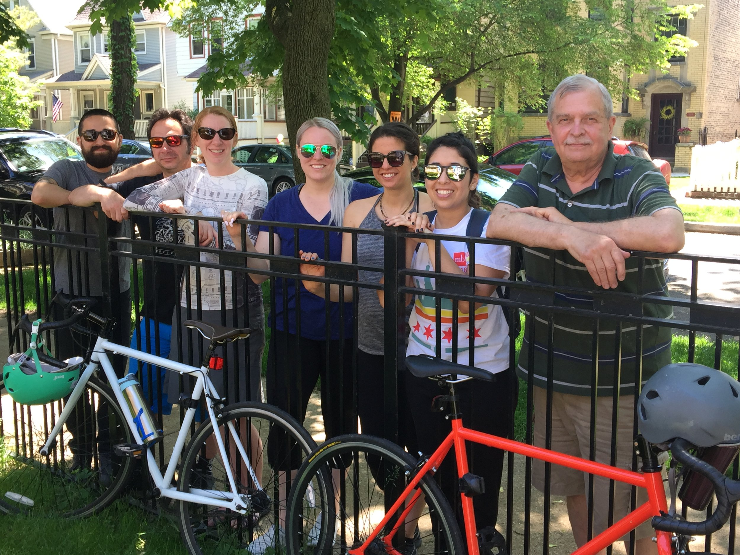 Bike the Drive                     May 27, 2018 - Kmetko staff and friends enjoy Bike the Drive.