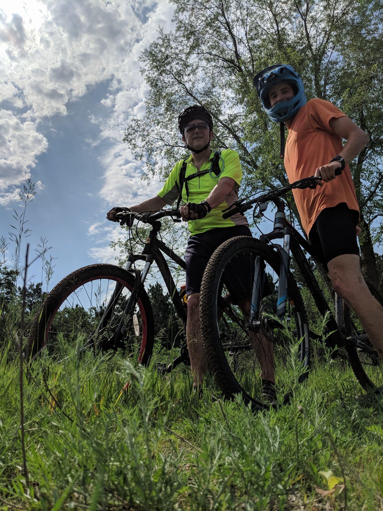Mountain Biking with Lars -
