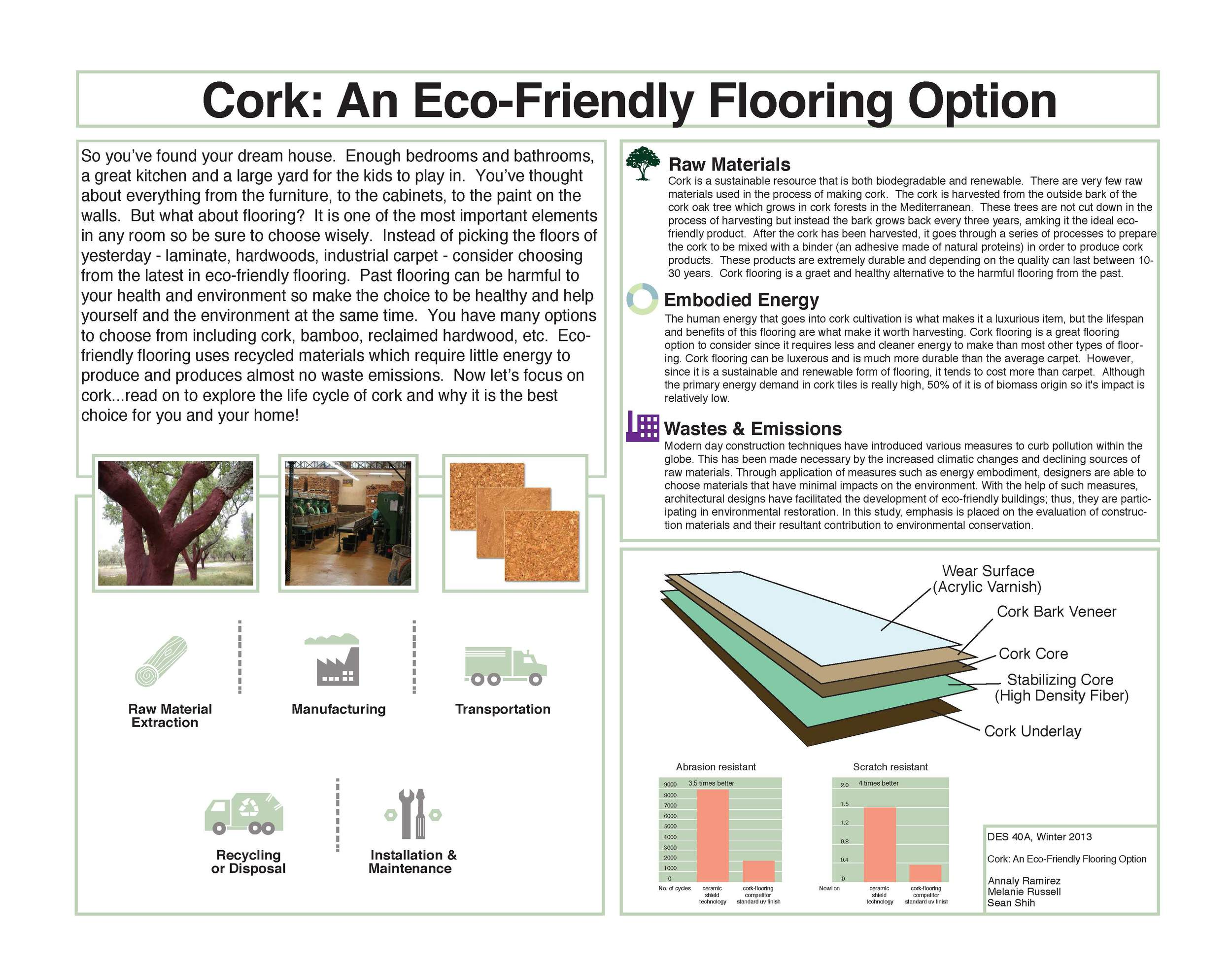 Cork Flooring Design Life Cycle
