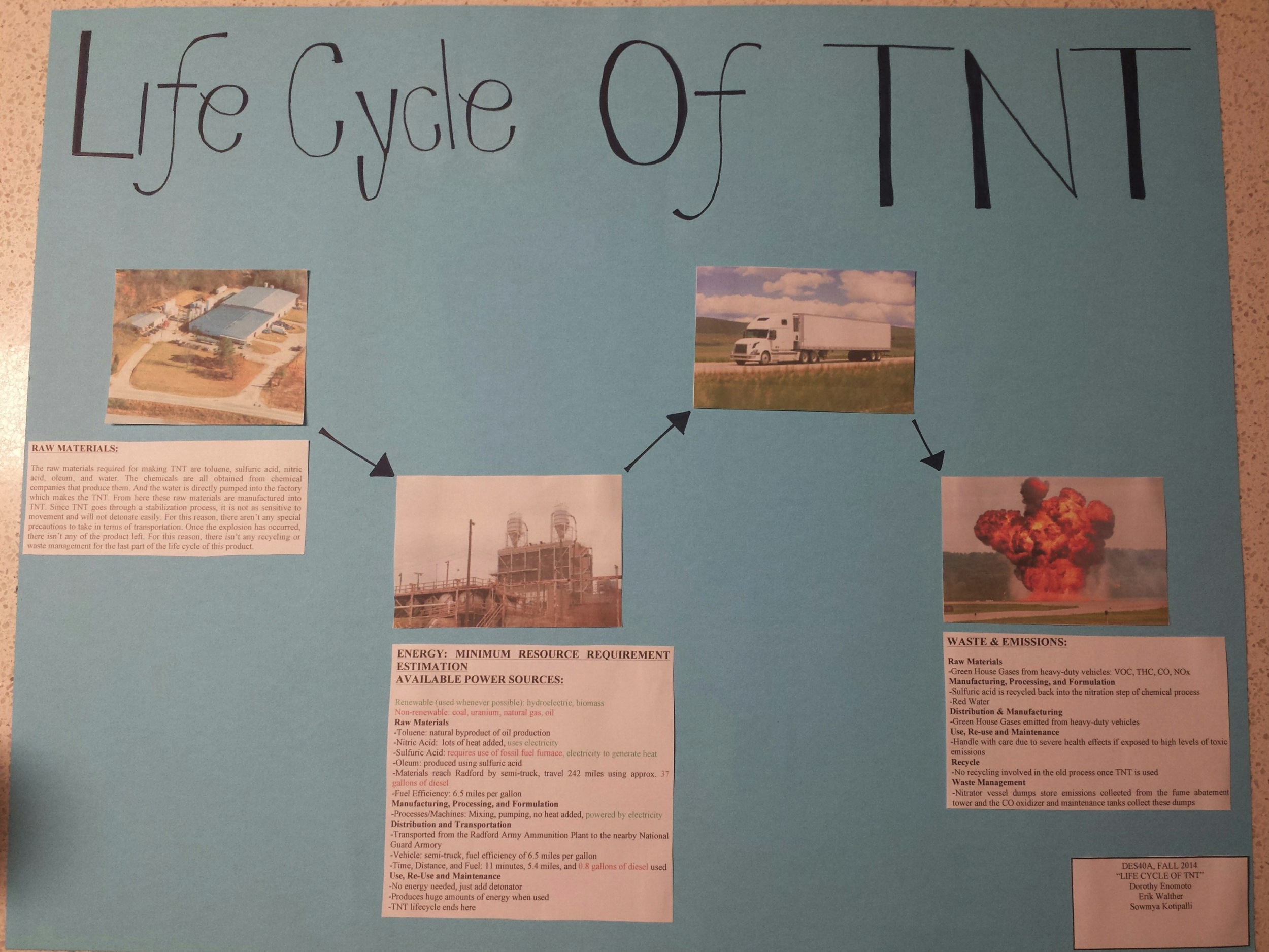 Life Cycle of TNT