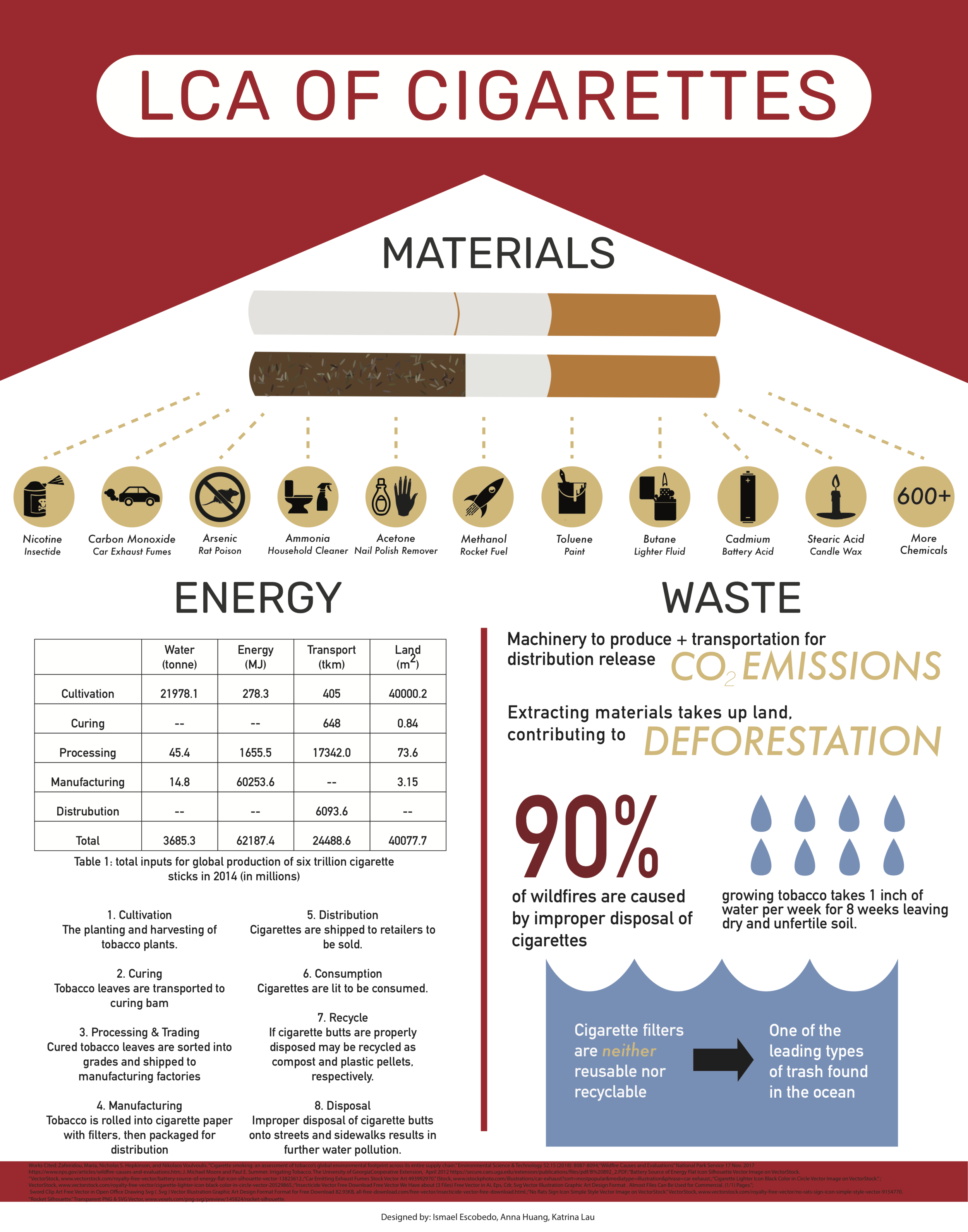 Life Cycle of Cigarettes