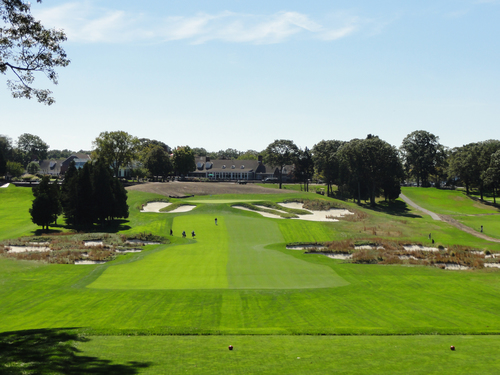 Bethpage Black Course   - force the golfer to think about his choice of golf club