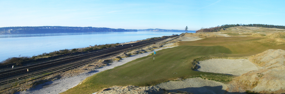 Chambers Bay   - use site constraints to the advantage of the routing