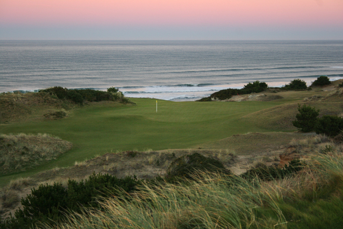 Pacific Dunes   - route the course to capture the best vistas